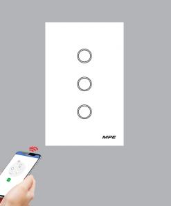 Công tắc wifi cảm ứng MPE - Kết nối Google alexa